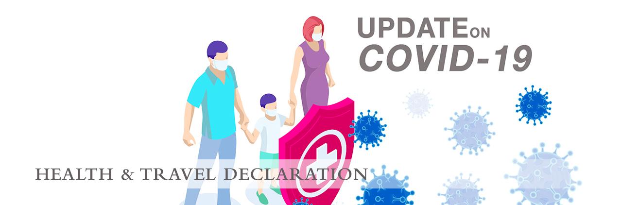 health and travel declaration